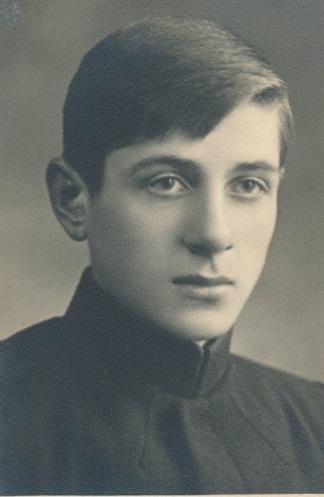 Vytautas Mačernis. Iš ciklo – V. Mykolaičio-Putino studentai