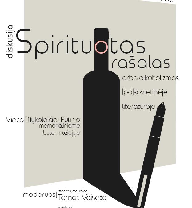 Spirituotas rašalas arba alkoholizmas (po)sovietinėje literatūroje