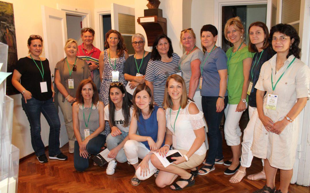 2019.06.24 mokytojų iš Portugalijos, Lenkijos, Graikijos ir Italijos delegacija