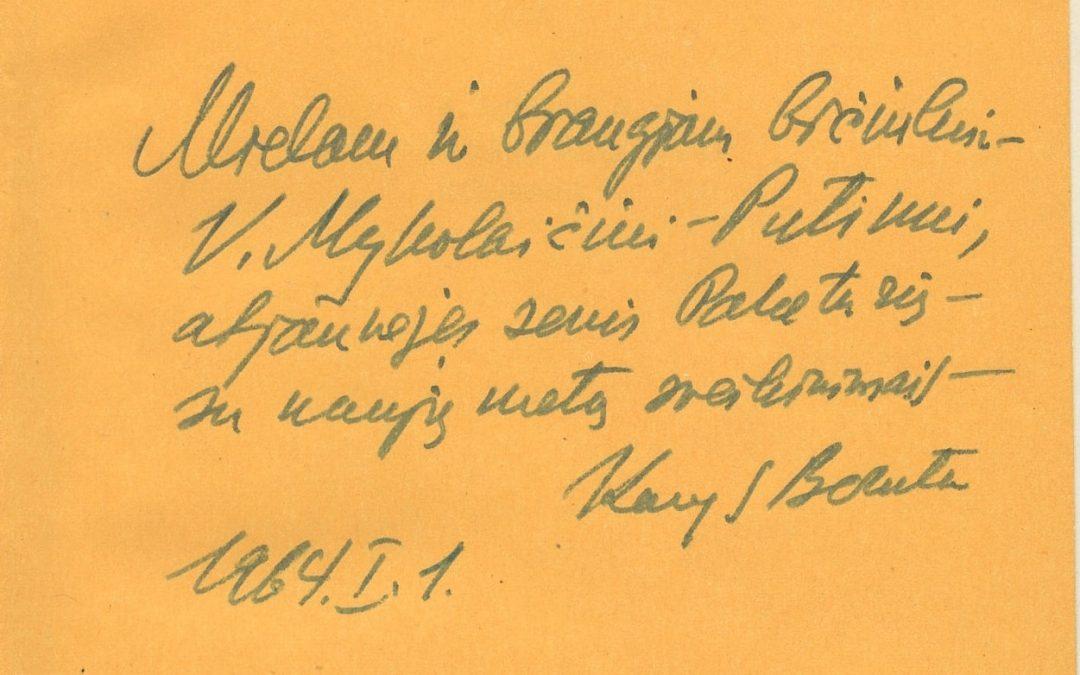 Dedikacijos Putinui. II dalis (1947-1967 m.)